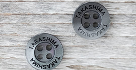 名入れボタン、オリジナルボタンの作成