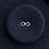 リネンくるみボタン(2つ穴くるみボタン)